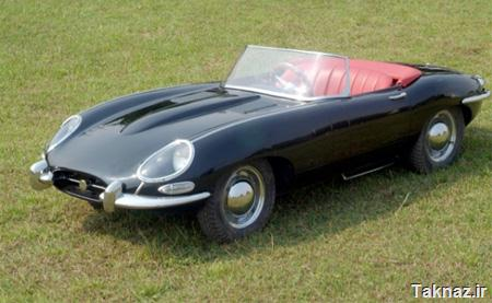 Half Scale Jaguar E-type