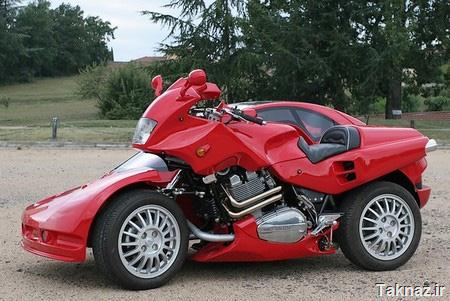 Motorcycle Sidecar by Francois Knorreck