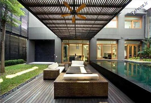 Luxury Home Interior Design with  Exotic Indoor Garden _1