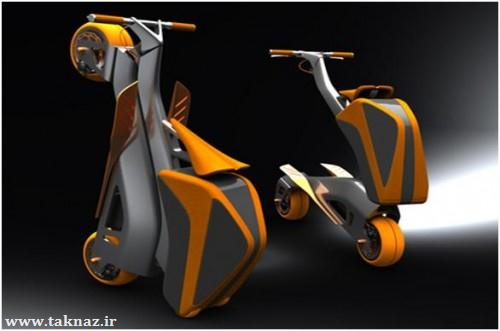 Incredible Folding Backback Bicycle