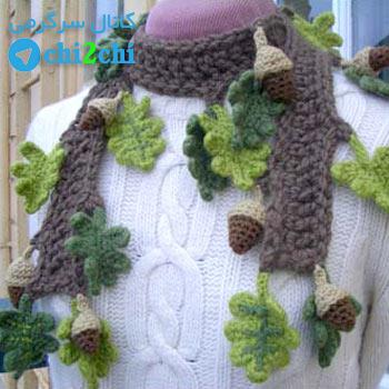 Mighty Oak Scarflette Crochet Pattern